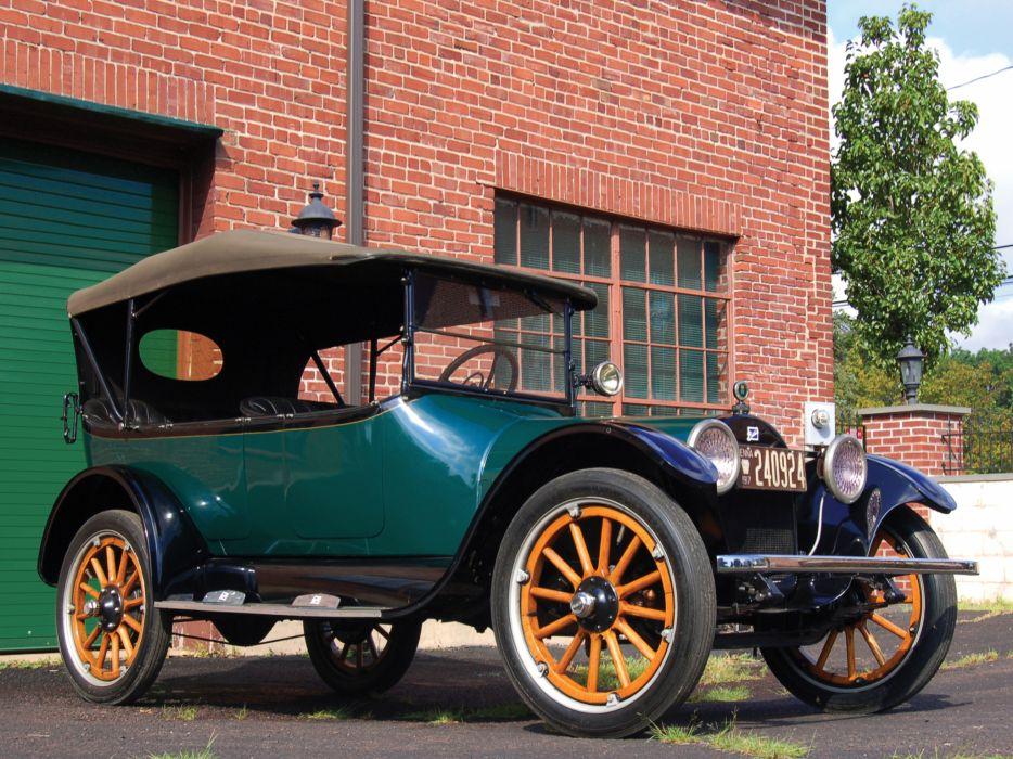 1917 Buick Model-D45 Touring retro wallpaper
