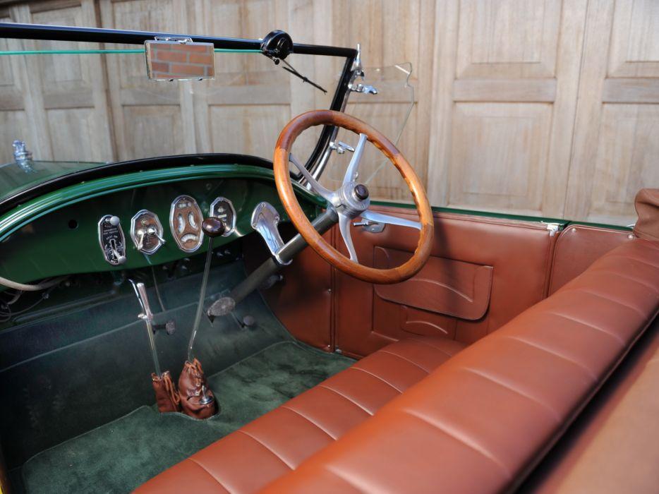 1927 Buick Master Six Sport Roadster (27X-54) retro interior     j wallpaper