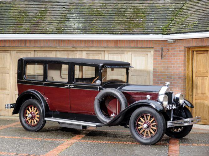 1928 McLaughlin Buick Master Six 7-passenger Sedan (28-50C) retro wallpaper