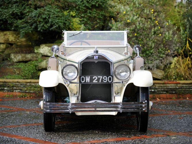 1928 McLaughlin Buick Master Six Touring (28-496) retro d wallpaper