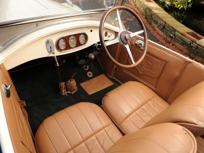 1928 McLaughlin Buick Master Six Touring (28-496) retro interior h wallpaper