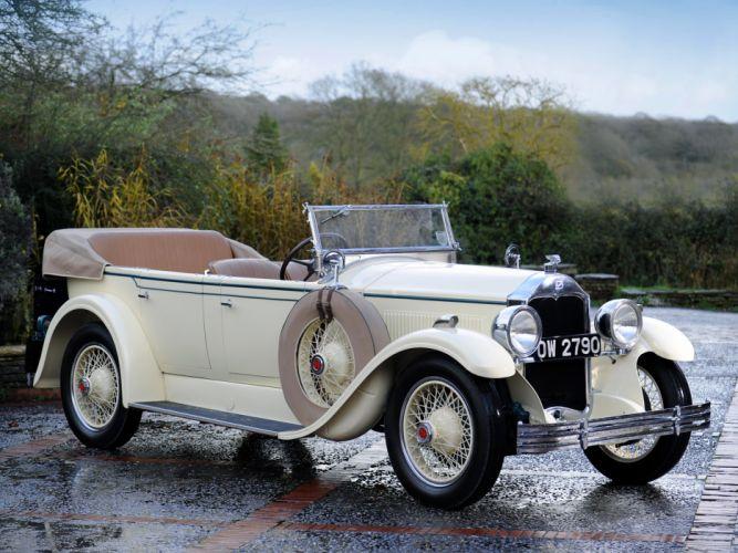 1928 McLaughlin Buick Master Six Touring (28-496) retro g wallpaper