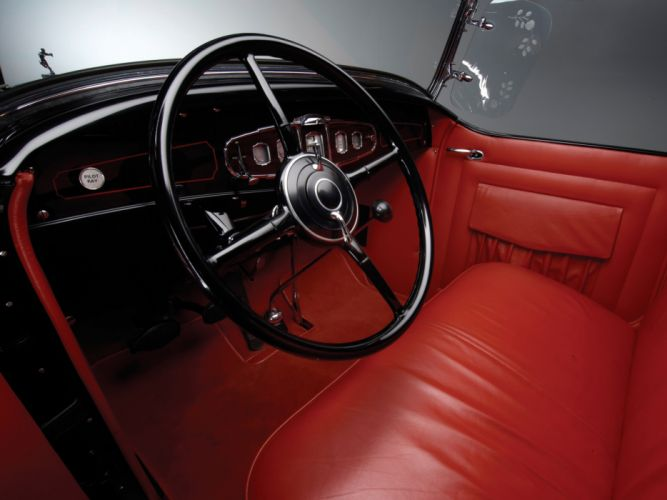 1931 Buick Series-90 Sport Roadster (8-94) retro interior h wallpaper