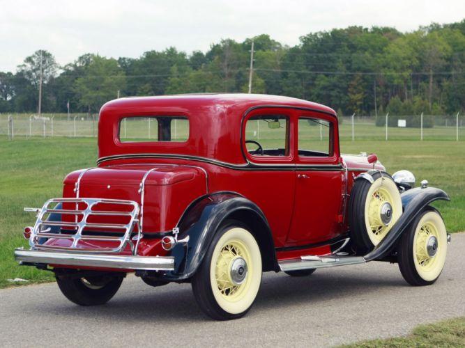 1932 Buick Series-80 Victoria Coupe (32-86) retro wallpaper