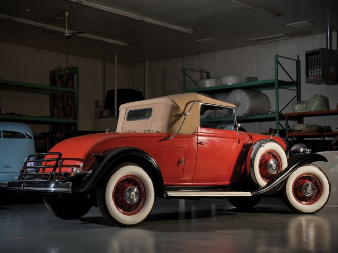 1932 Buick Series-90 Convertible Coupe (32-96C) retro g wallpaper