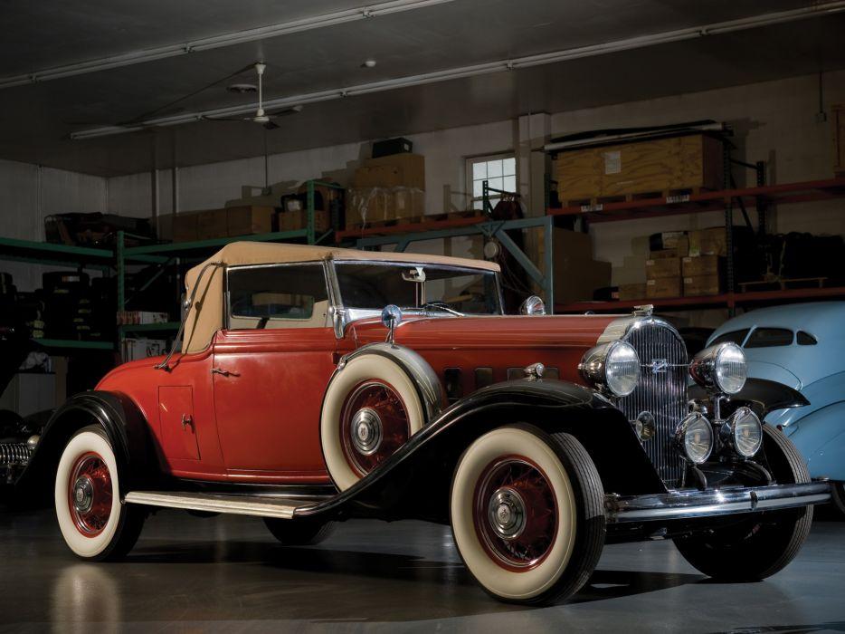 1932 Buick Series-90 Convertible Coupe (32-96C) retro wallpaper