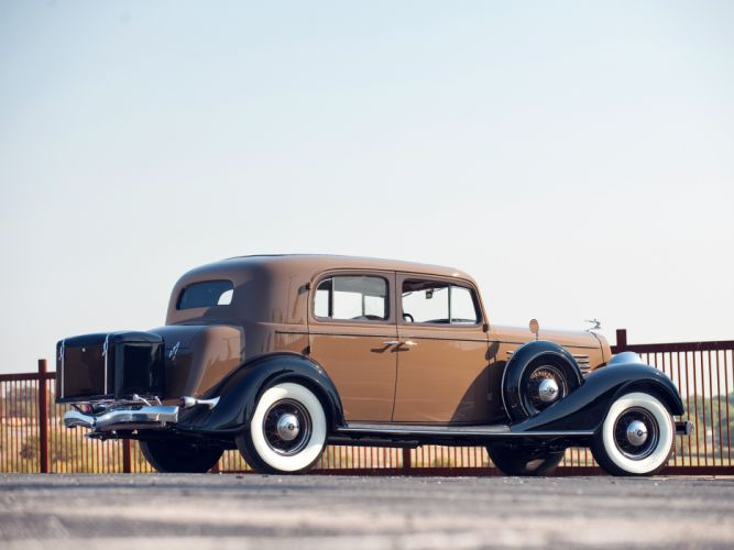 1934 Buick Series-90 Club Sedan (91) retro luxury wallpaper