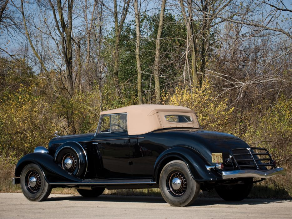 1934 Buick Series-90 Convertible Coupe (96C) retro    f wallpaper