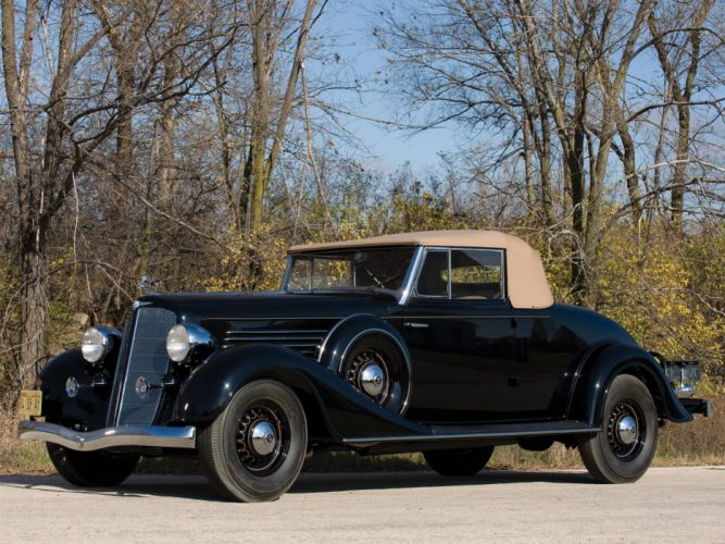 1934 Buick Series-90 Convertible Coupe (96C) retro wallpaper
