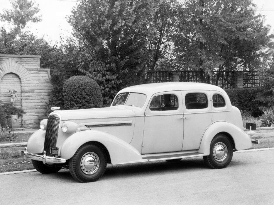 1936 Buick Century Sedan (61) retro wallpaper
