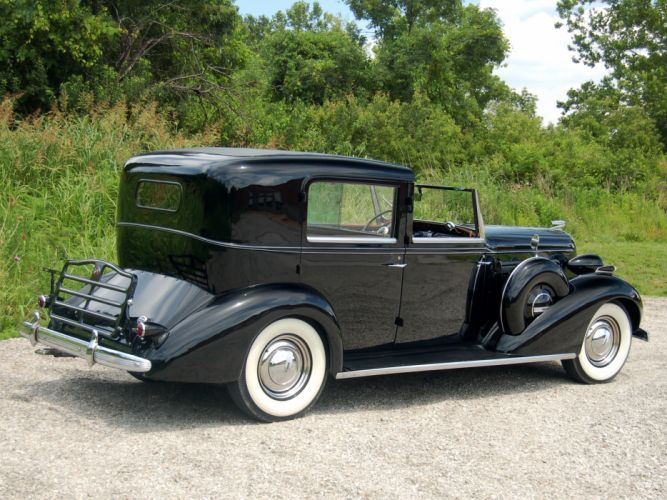 1936 Buick Roadmaster Town Car by Brewster (80) retro luxury wallpaper
