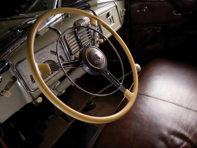 1937 Buick Roadmaster Convertible Sedan (80) retro interior h wallpaper