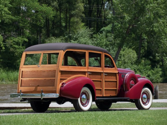 1938 Buick Century Estate Wagon by Wildanger retro stationwagon f wallpaper
