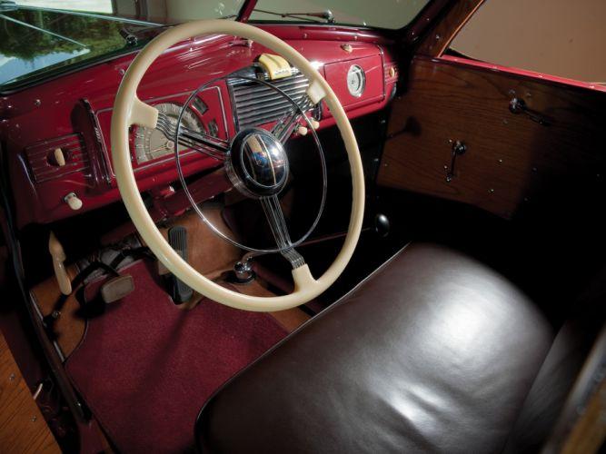 1938 Buick Century Estate Wagon by Wildanger retro stationwagon interior h wallpaper