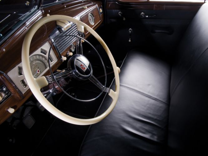 1938 Buick Limited Limousine (38-90L) retro luxury interior h wallpaper