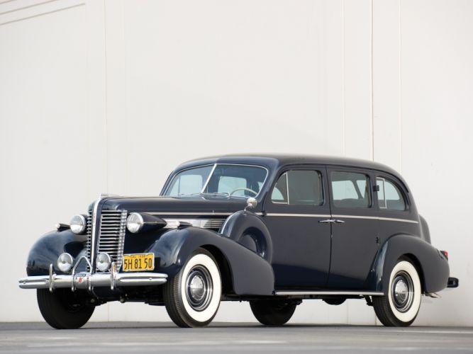 1938 Buick Limited Limousine (38-90L) retro luxury wallpaper