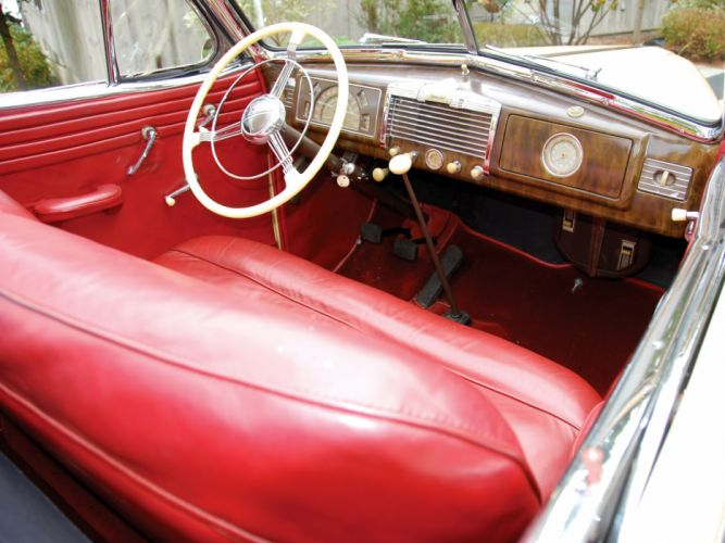 1938 Buick Special Convertible Coupe (38-46C) retro luxury interior j wallpaper