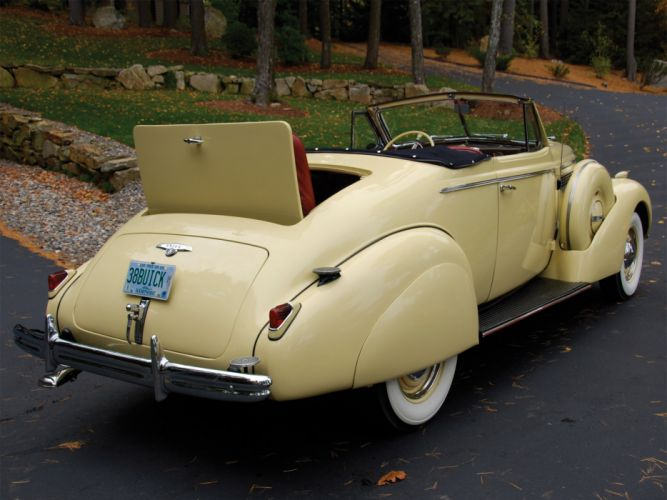 1938 Buick Special Convertible Coupe (38-46C) retro luxury j wallpaper