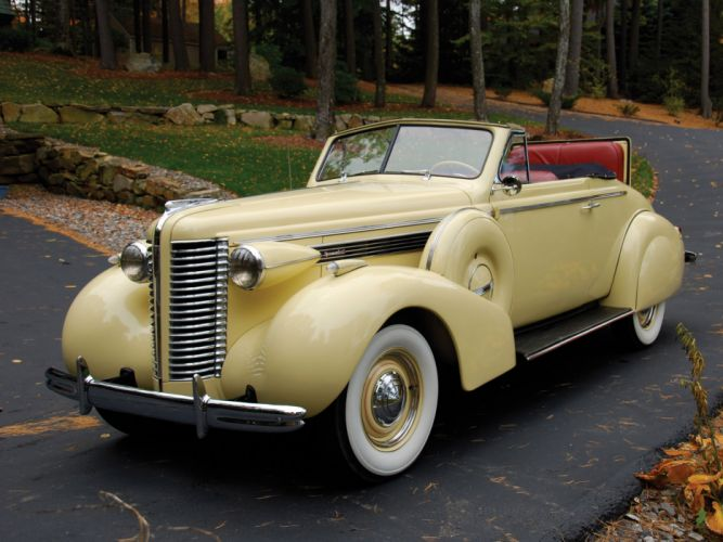 1938 Buick Special Convertible Coupe (38-46C) retro luxury wallpaper