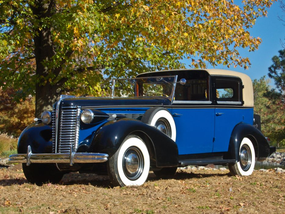 1938 Buick Special Town Car by Brewster retro luxury wallpaper
