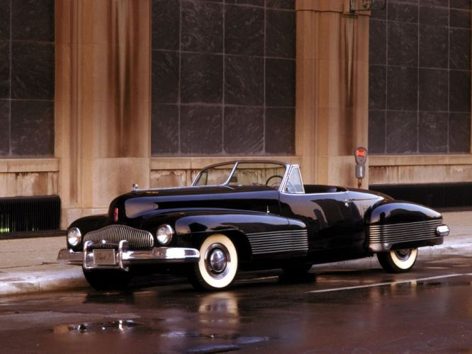 1938 Buick Y-Job Concept Car supercar retro custom y wallpaper