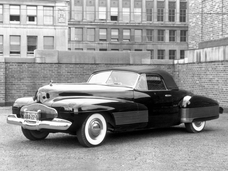1938 Buick Y-Job Concept Car supercar retro custom   u wallpaper