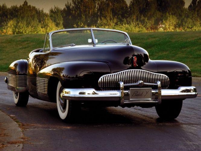 1938 Buick Y-Job Concept Car supercar retro custom j wallpaper