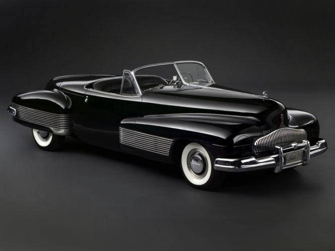 1938 Buick Y-Job Concept Car supercar retro custom t wallpaper