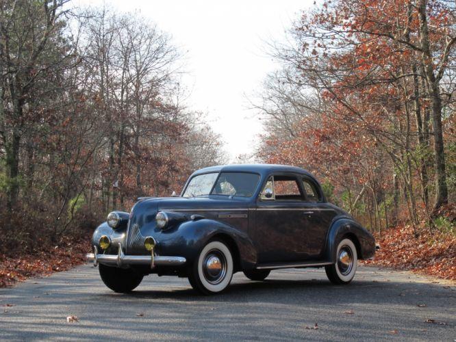 1939 Buick Century Sport Coupe (66S) retro wallpaper