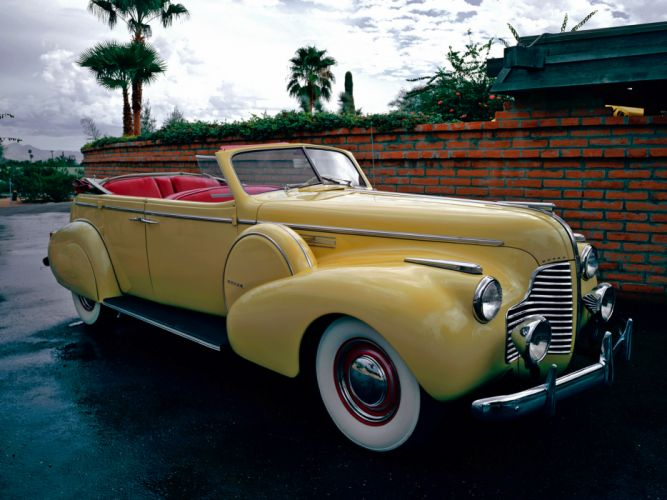 1940 Buick Limited Fastback Convertible Phaeton (81DA) retro luxury g wallpaper
