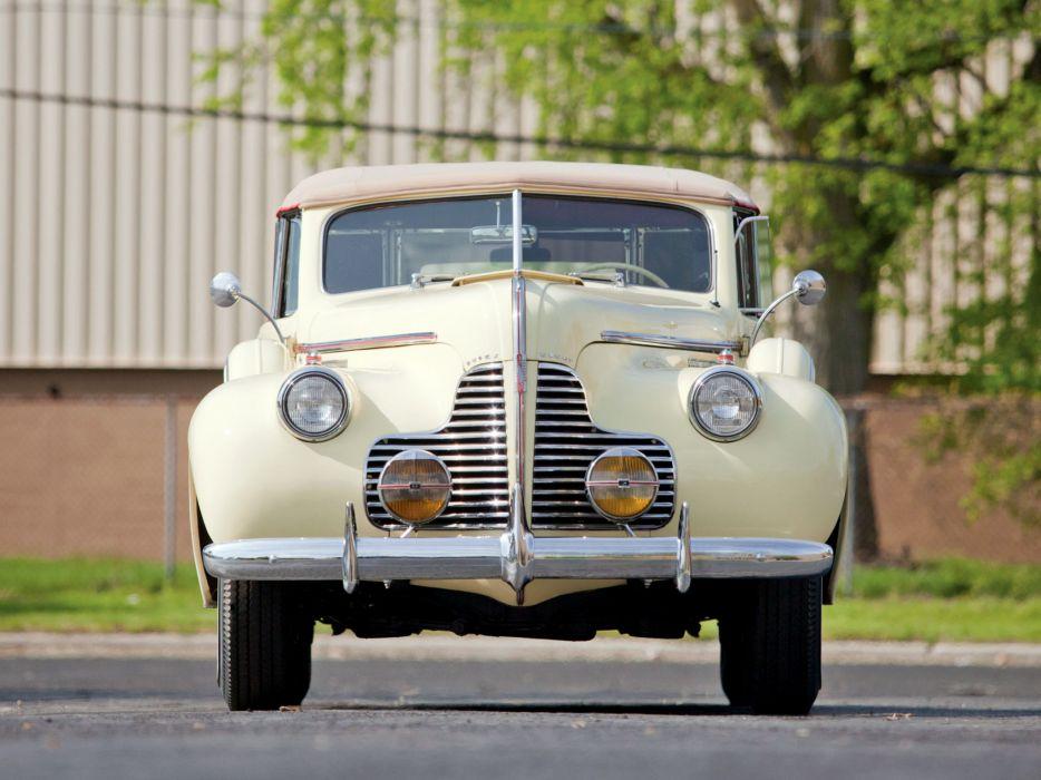 1940 Buick Limited Fastback Convertible Phaeton (81DA) retro luxury    gs wallpaper