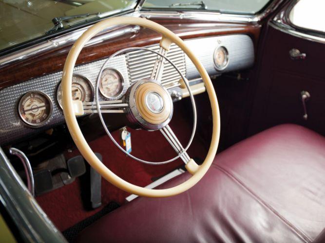1940 Buick Limited Fastback Convertible Phaeton (81DA) retro luxury interior h wallpaper