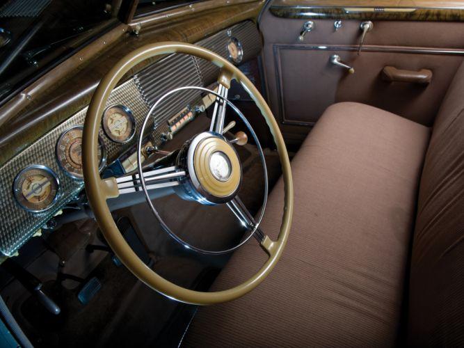 1940 Buick Super 4-door Sedan (51) retro interior j wallpaper