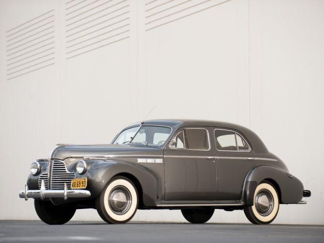 1940 Buick Super 4-door Sedan (51) retro wallpaper