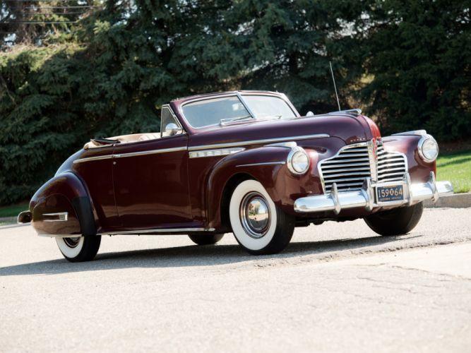 1941 Buick Roadmaster Convertible Coupe (76C) retro luxury d wallpaper