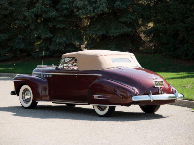 1941 Buick Roadmaster Convertible Coupe (76C) retro luxury g wallpaper