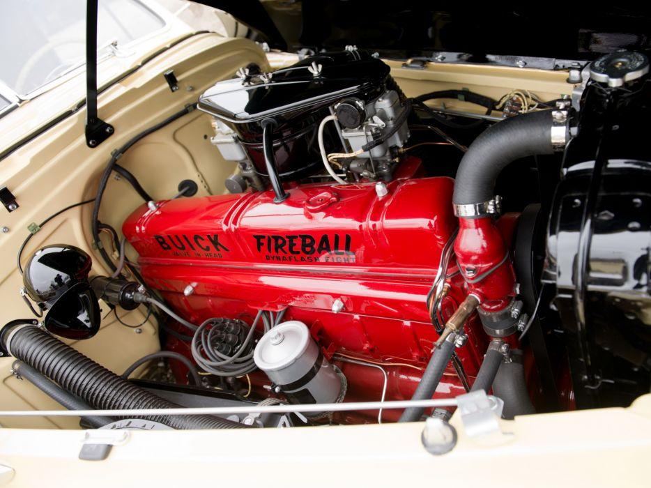 1941 Buick Roadmaster Convertible Coupe (76C) retro luxury engine       h wallpaper