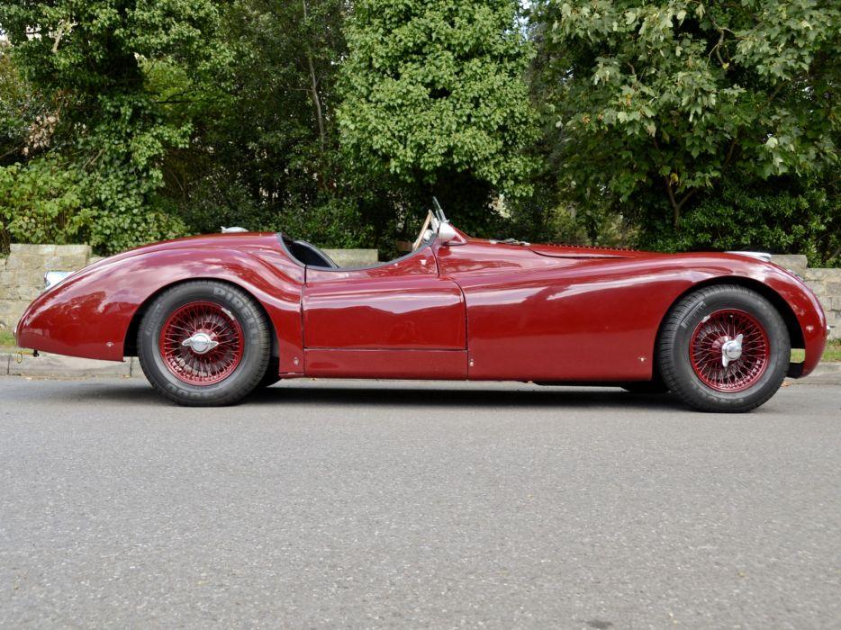 1950 Jaguar XK120 LT2 Alloy Roadster race racing supercar retro   t wallpaper
