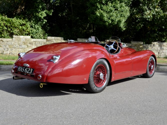 1950 Jaguar XK120 LT2 Alloy Roadster race racing supercar retro f wallpaper