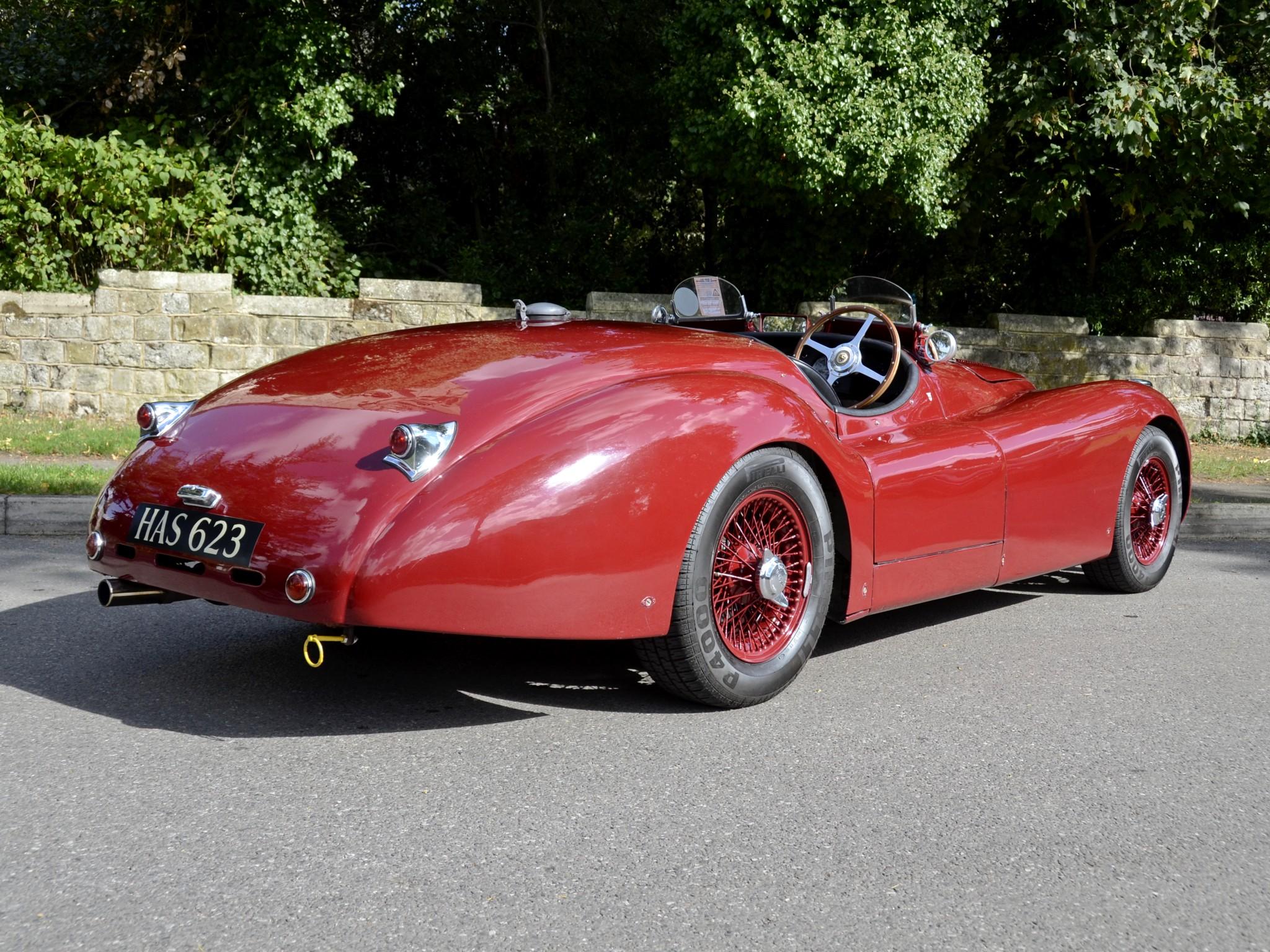 1950 Jaguar Xk120 Lt2 Alloy Roadster Race Racing Supercar