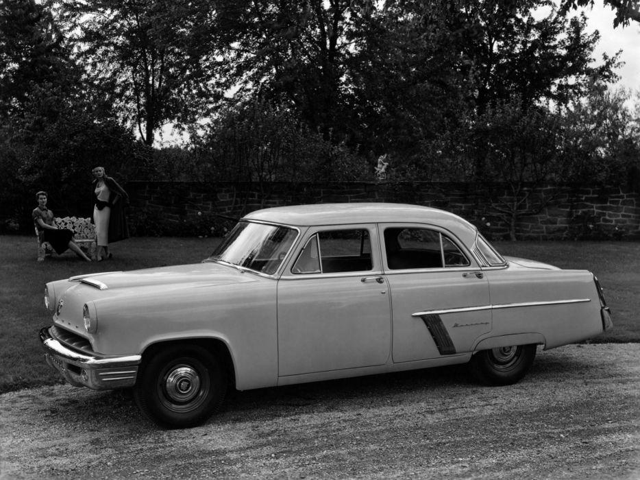1952 Mercury Custom 4-door Sedan 73B retro wallpaper