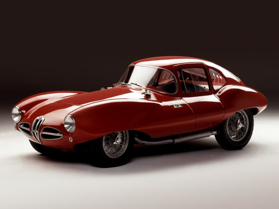 1953 Alfa Romeo 1900 C52 Disco Volante Coupe 1359 supercar race racing retro    r wallpaper