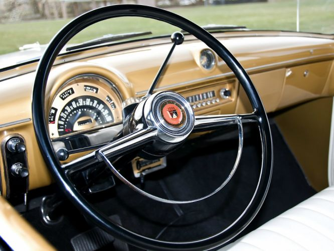 1953 Ford Crestline Convertible Indy 500 Pace Car 76B race racing retro interior f wallpaper