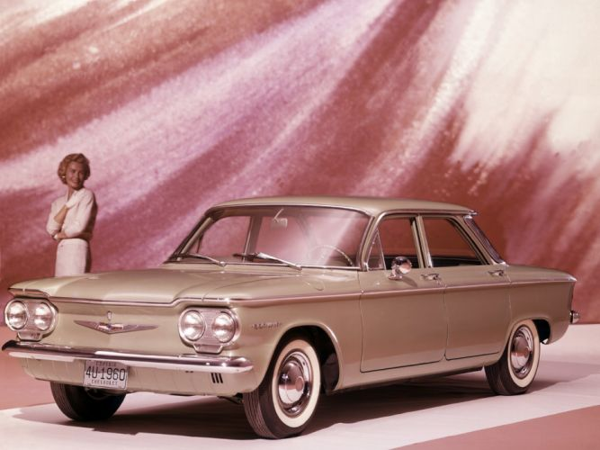 1960 Chevrolet Corvair 700 Sedan (700-69) classic h wallpaper