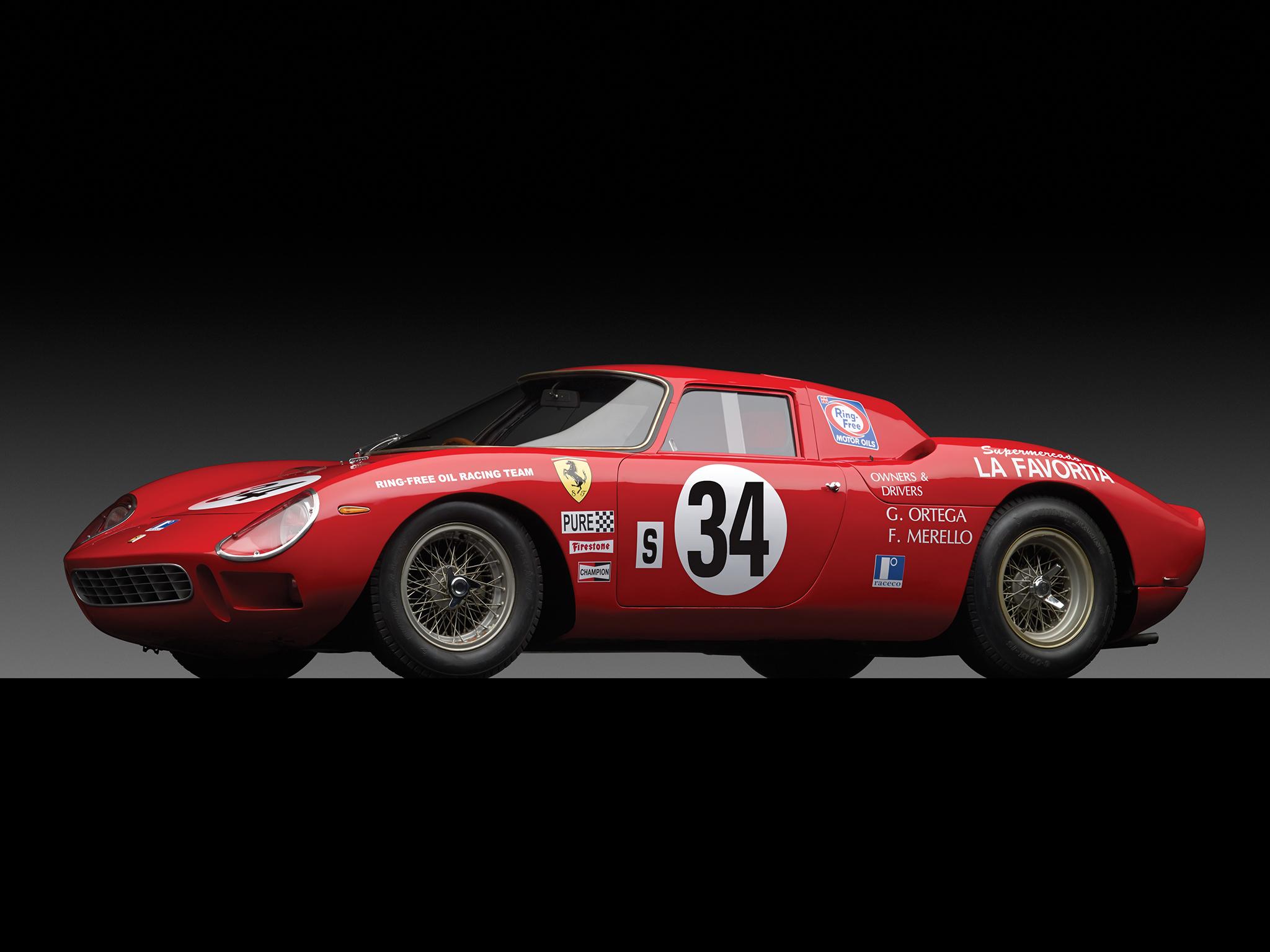 1964 Ferrari 250 LM classic supercar race racing l-m v ...