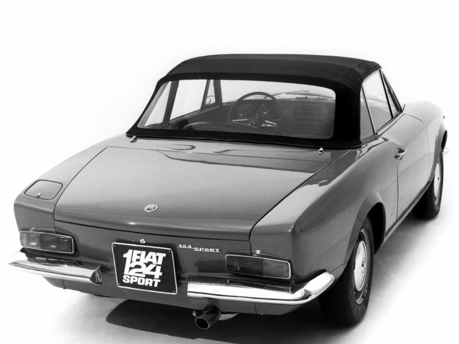 1966 Fiat 124 Sport Spider (AS) classic    u wallpaper