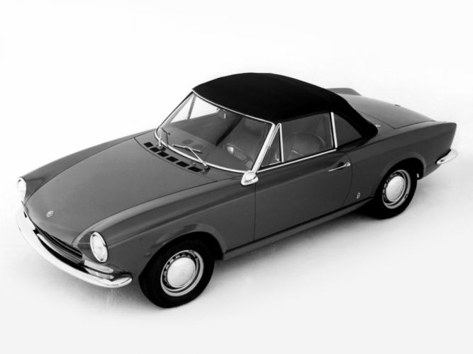 1966 Fiat 124 Sport Spider (AS) classic wallpaper