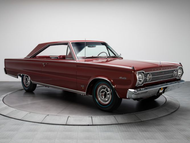 1966 Plymouth Belvedere Satellite 426 Hemi Hardtop Coupe RP23 muscle classic t wallpaper