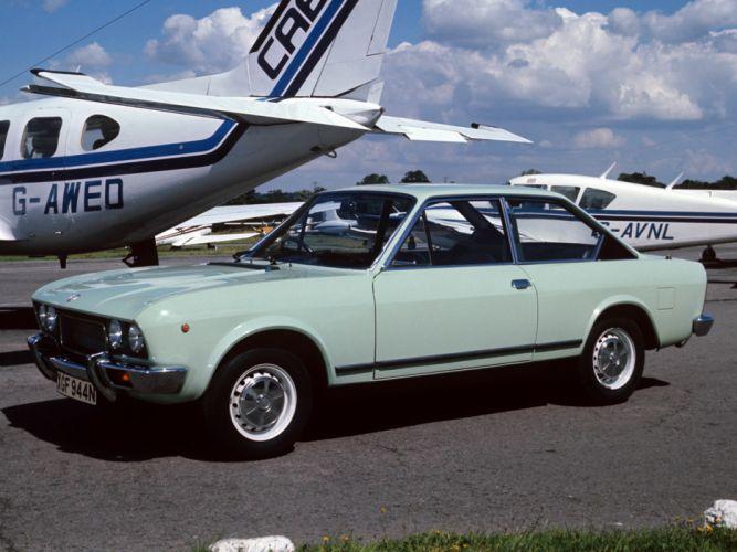 1972 Fiat 124 Sport Coupe UK-spec classic r wallpaper