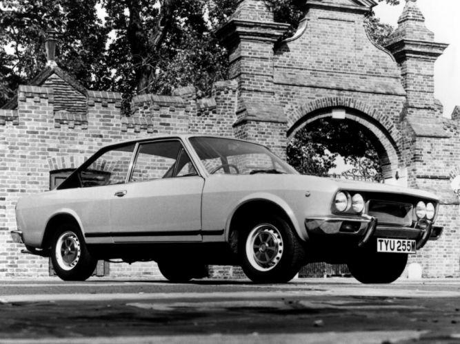 1972 Fiat 124 Sport Coupe UK-spec classic wallpaper